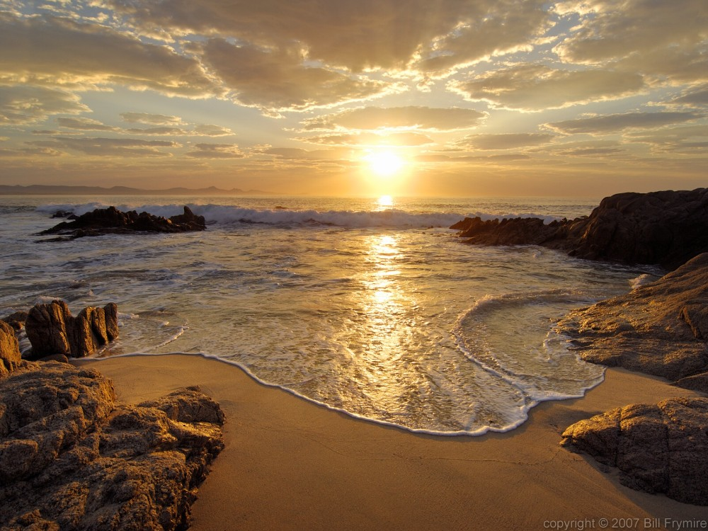 mexican beach sunrise  Bill FrymireBill Frymire
