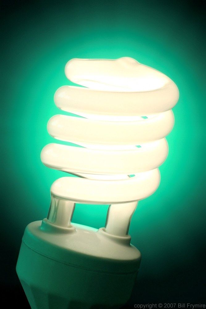 A new idea image of the week bill frymirebill frymire Fluorescent light bulb