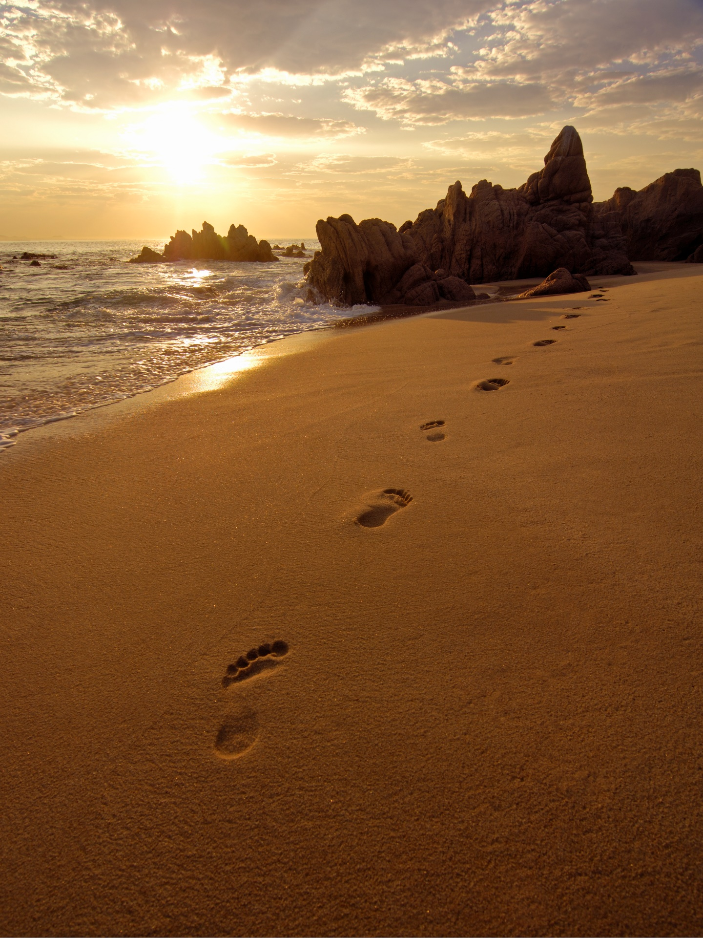 Quotes About Leaving Footprints. QuotesGram