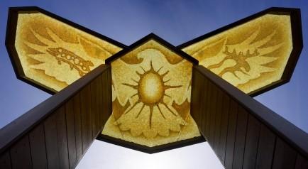 Spirit Eagle Mosaic Canopy