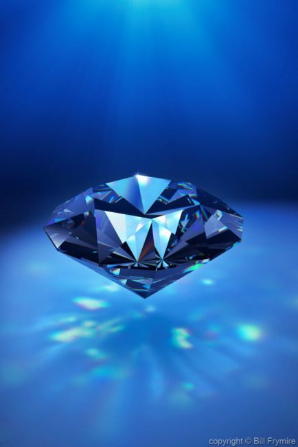 solitary diamond