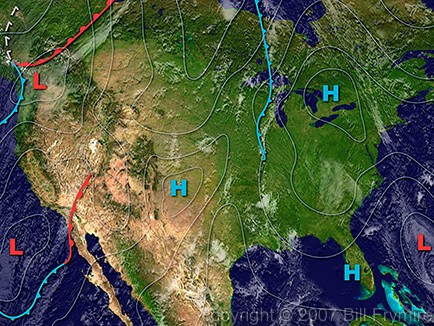 USA-weather-map