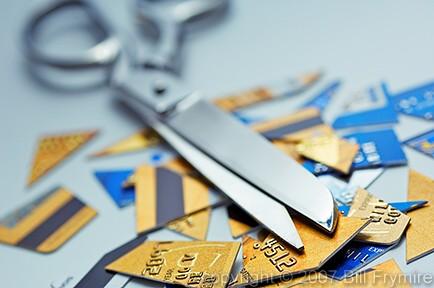control-debt-cut-credit-card