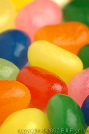 Jelly Beans, copyright Bill Frymire Dec. 2004