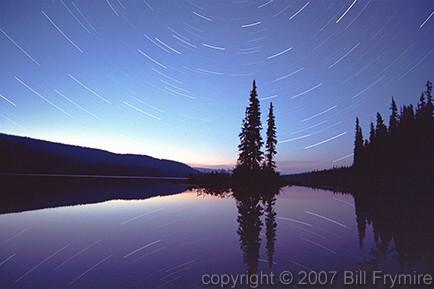 star-trails-sunset-sunrise-lake