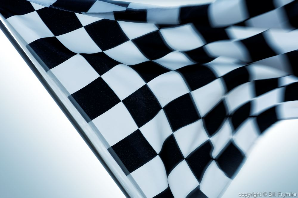 Racing Checkered Flag >> Checkered Flag waving