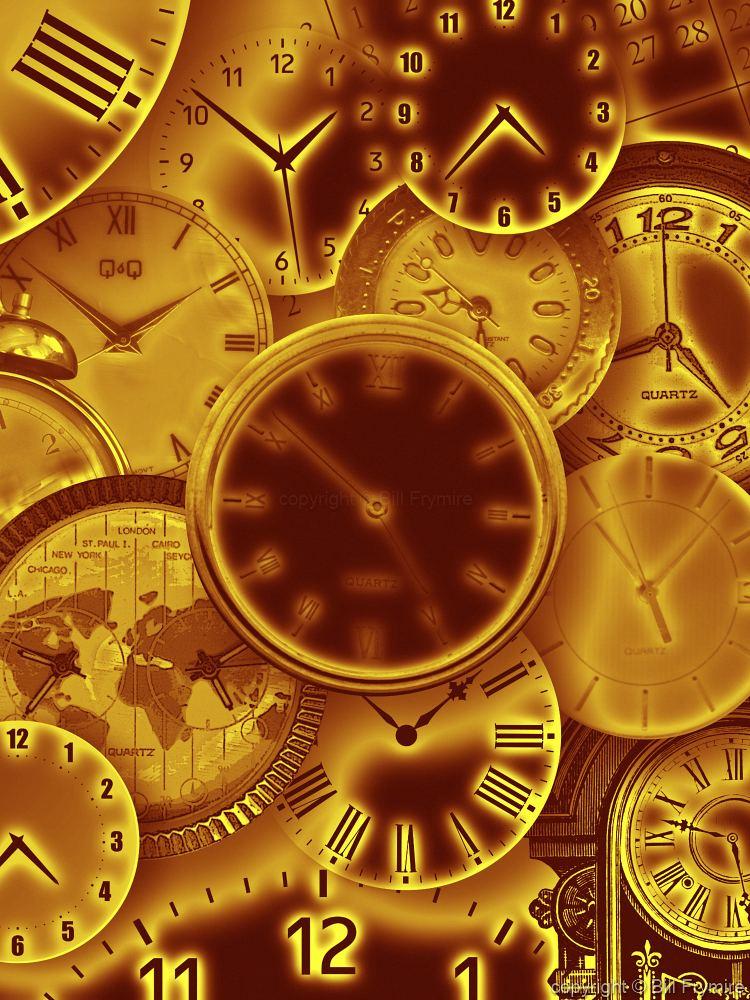 Clock Collage