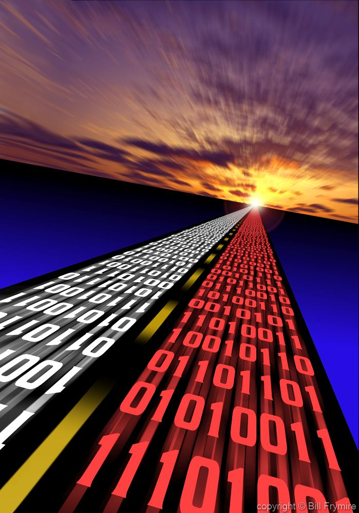 information superhighway and the power of the internet The information superhighway (infobahn) is a term that was/is used to describe the internet and digital communication generally speaking, it's a term that was/is used to refer to the internet.