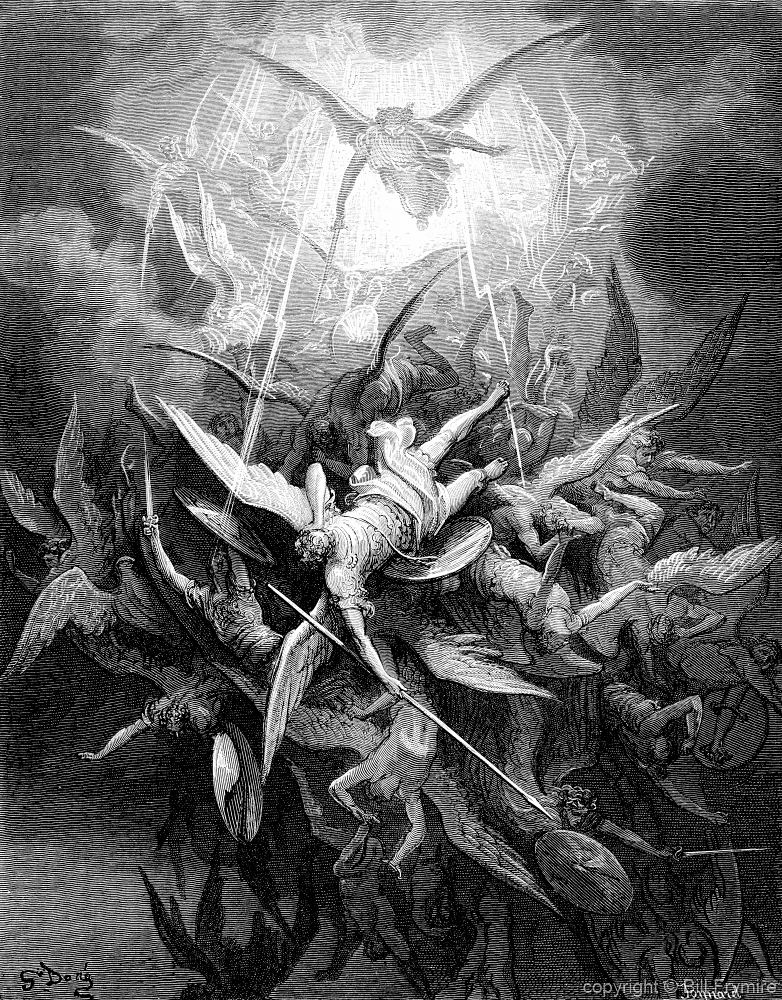 an analysis of the fallen angels and satan in paradise lost by john milton Paradise lost john milton table of contents context character list analysis of major characters satan adam eve god the son.