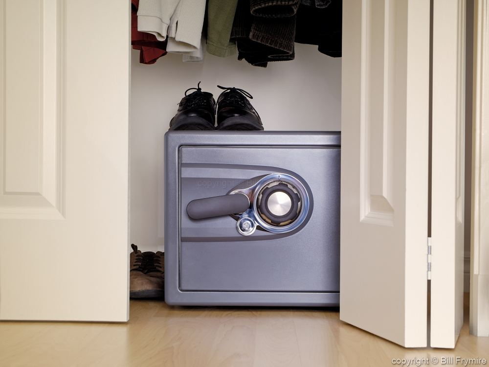 Small Home Safe In Closet
