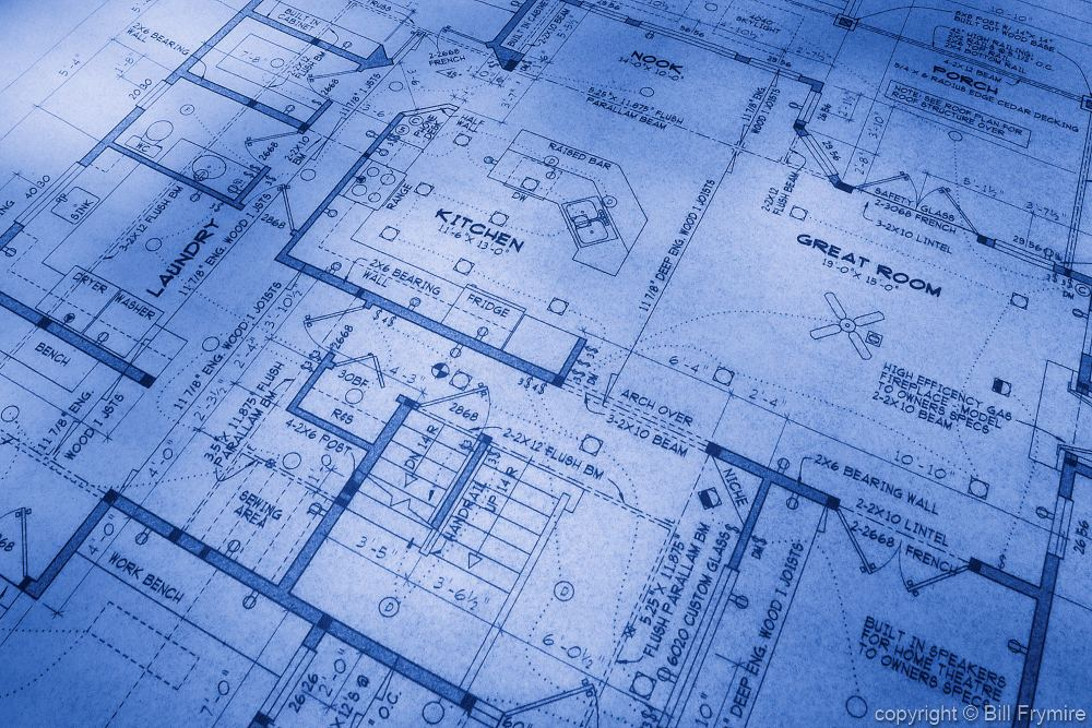 House blueprints for Residential blueprints