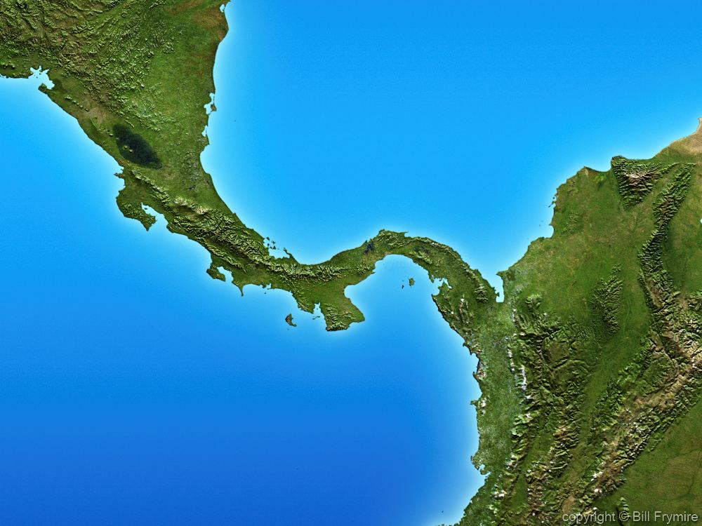 Isthmus Of Central America