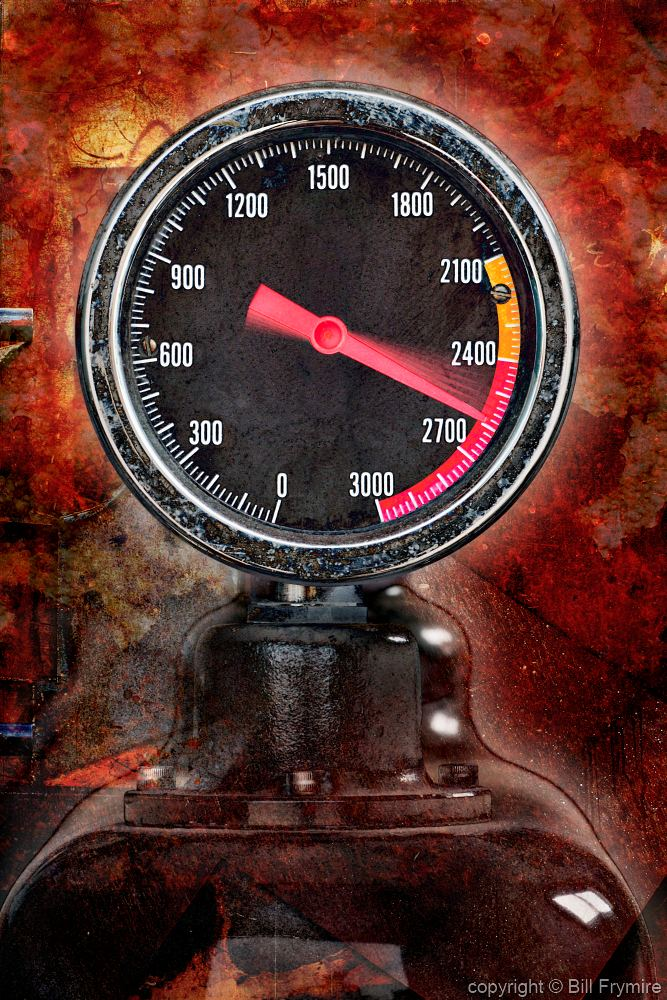 High Pressure Meter : Gauge with high pressure