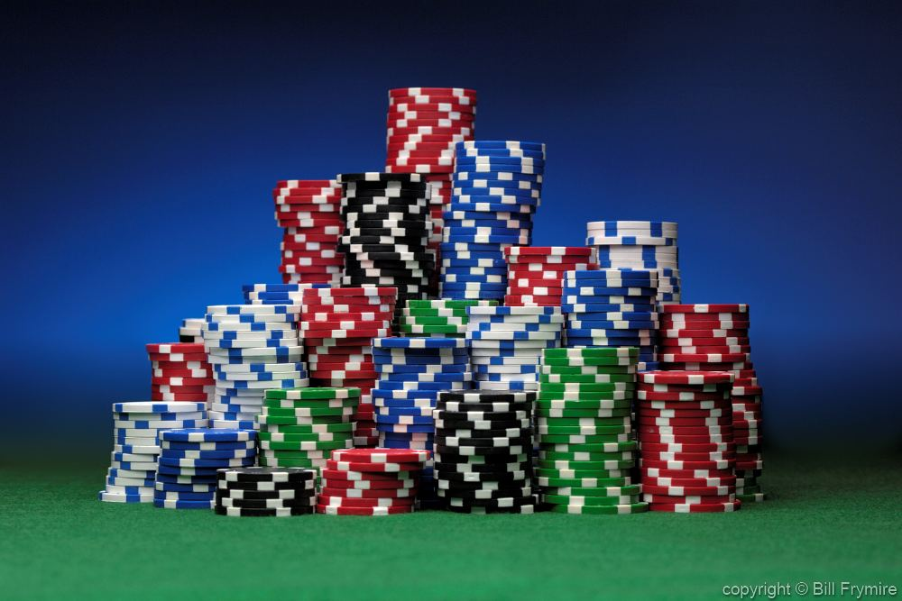 how to draw a stack of poker chips