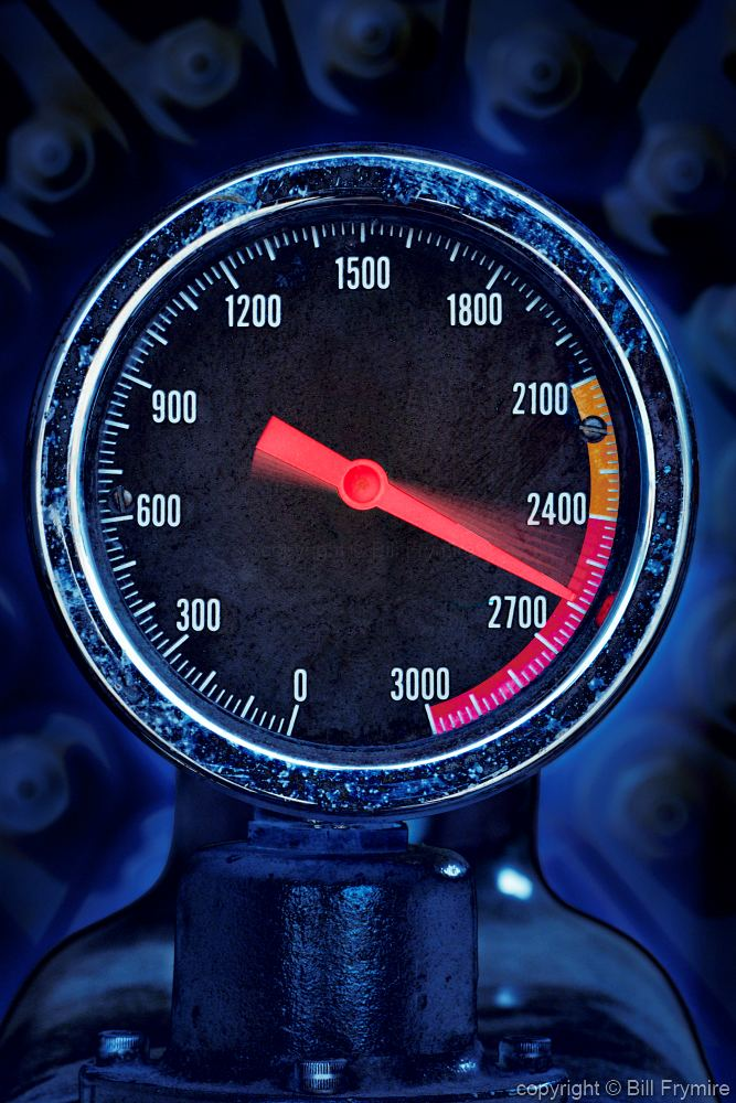 High Pressure Meter : Gauge with high reading