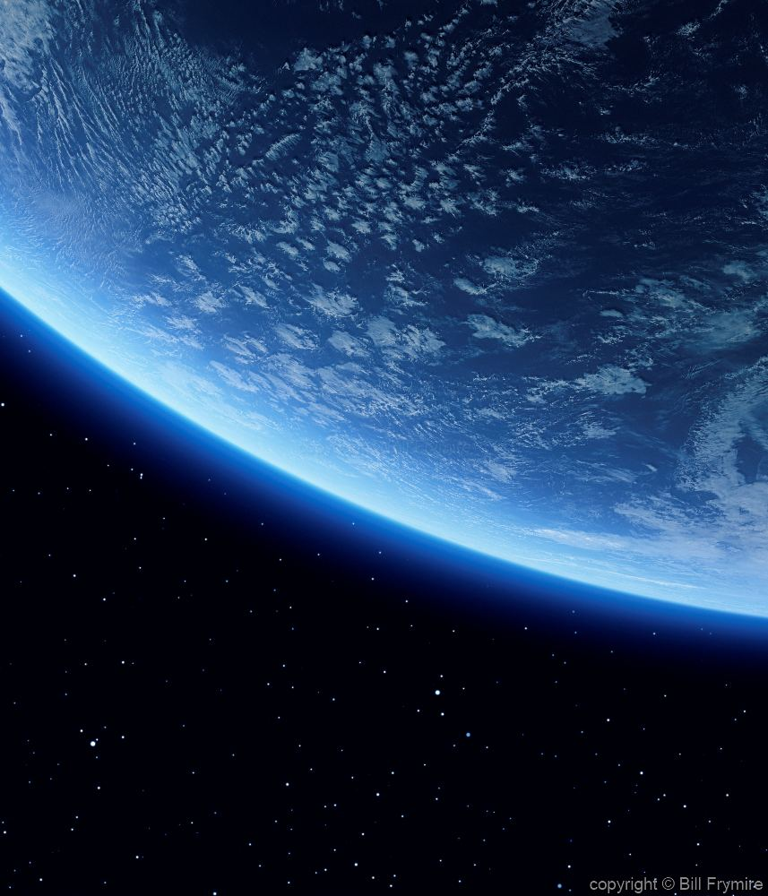 Earth from space for Outer space leicester