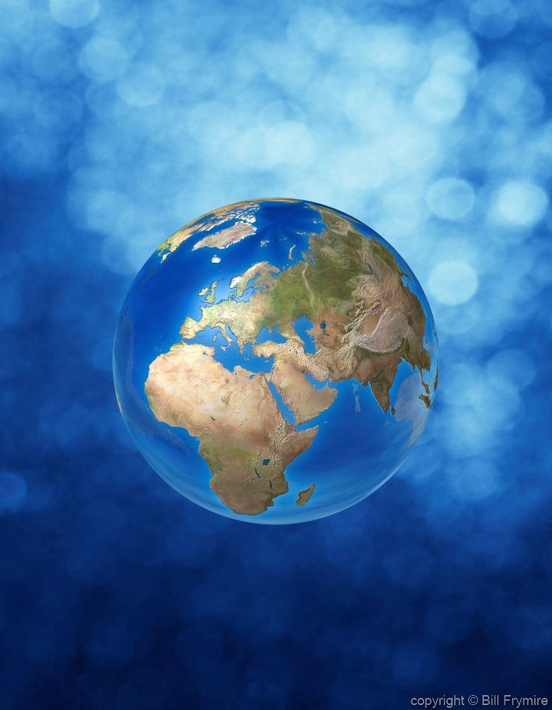 Globe Europe Asia And Africa