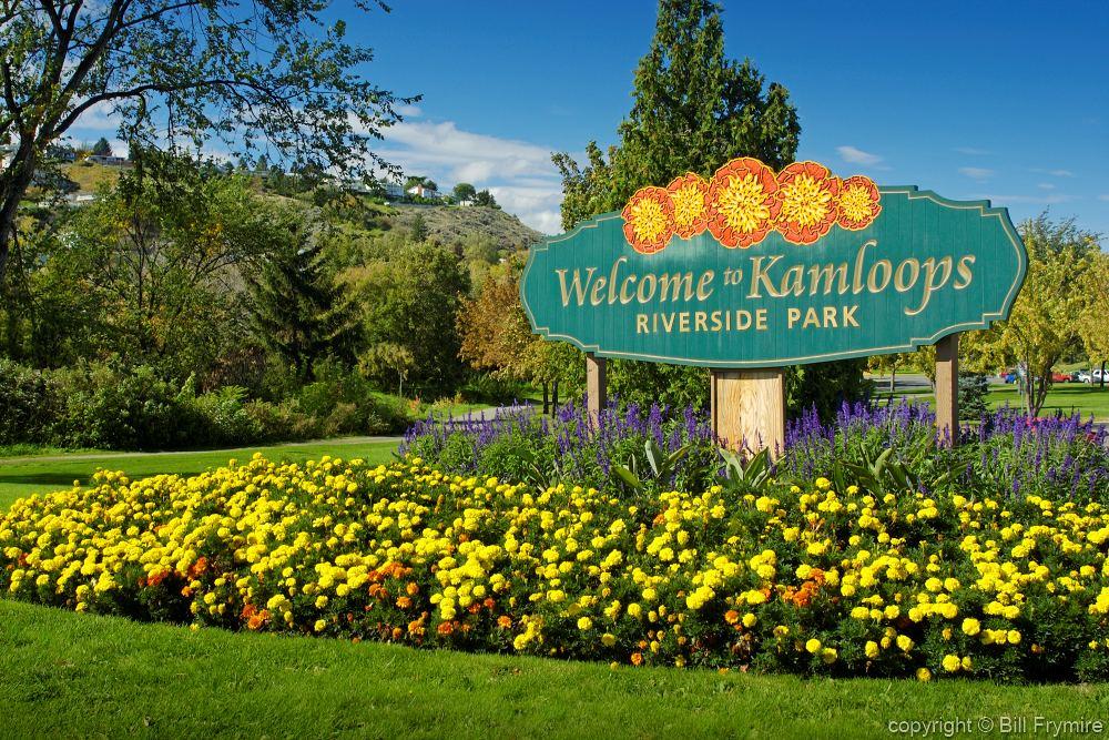 Welcome Sign Kamloops